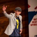 Bram Martens tijdens Utrechts Comedy Festival