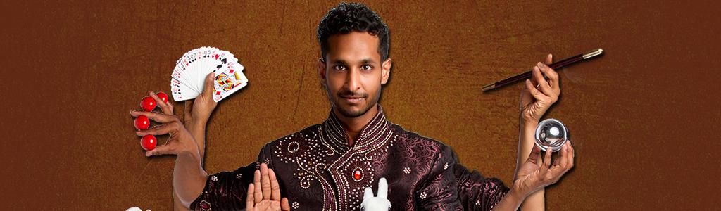 Roman Sudesh Banner Illusionist Artiestenpagina