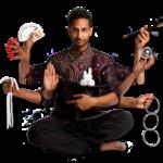 Roman Sudesh veelzijdige magic entertainer