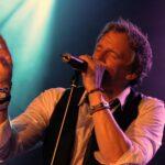 Persfoto van zanger en entertainer Pieke