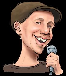 Karikatuur Bram Martens