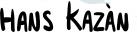 Tekst karikatuur Hans Kazan