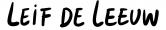Tekst Karikatuur Leif de Leeuw