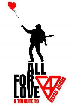 Poster Theatertour Bryan Adams Tribute